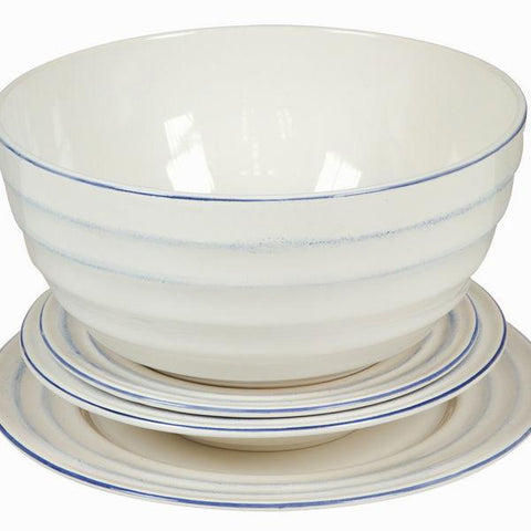 Image of 19 piece dinner set - Kitchen's Deco Collection by Bravissima Kitchen-Universal Store London™