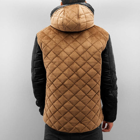 Just Rhyse / Winter Jacket Quilted in beige-Universal Store London™