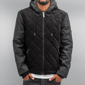 Just Rhyse / Winter Jacket Quilted in black