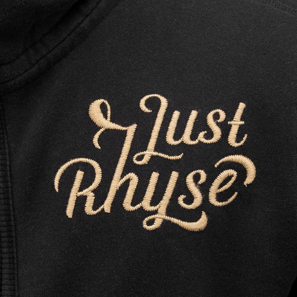 Just Rhyse / Zip Hoodie Big in black-Universal Store London™