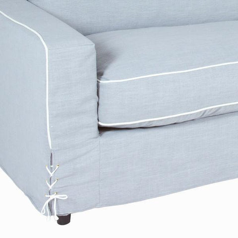 Image of 2-seat grey sofa by Craften Wood-Universal Store London™
