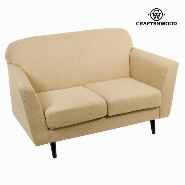 2 seater beige sofa abbey - Love Sixty Collection by Craften Wood-Universal Store London™