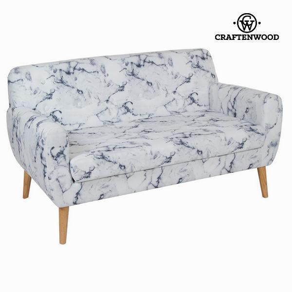 2 seats marble sofa by Craften Wood-Universal Store London™