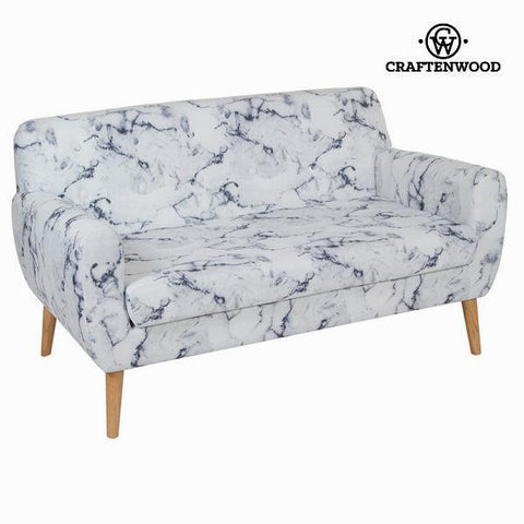 Image of 2 seats marble sofa by Craften Wood-Universal Store London™
