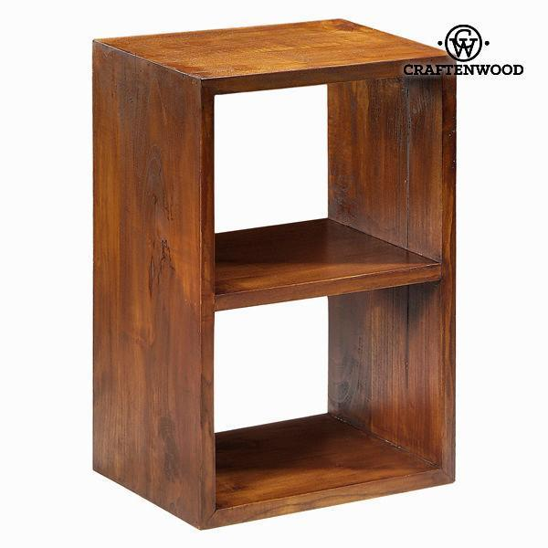 2-tier bookshelf - Serious Line Collection by Craften Wood-Universal Store London™