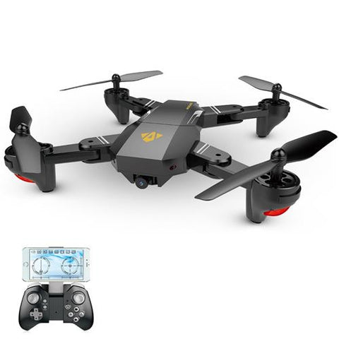 VISUO XS809HW Wifi FPV 2.0MP 720P HD Camera 2.4G 4CH 6-axis Selfie Drone Foldable RC Quadcopter RTF