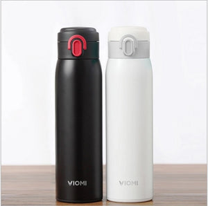Xiaomi VIOMI Stainless Steel Travel Mug, 16 oz, 460 ml, Stainless Steel