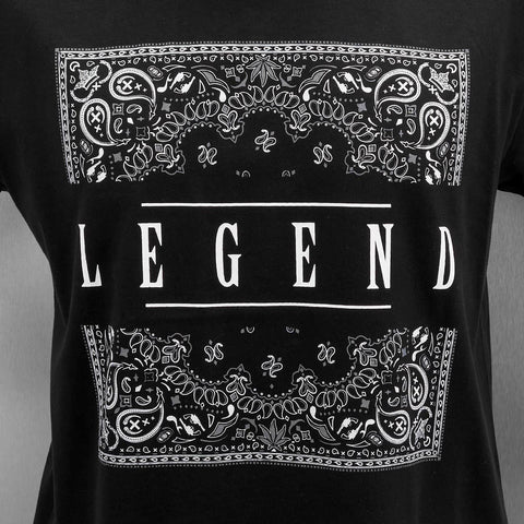Image of Dangerous DNGRS / T-Shirt Legend in black-Universal Store London™