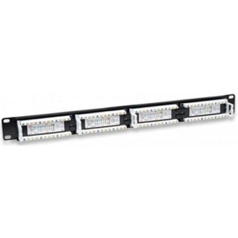 "24-port UTP Category 5e Patch Panel WP WPC-PAN-5U-24 19""-Universal Store London™"