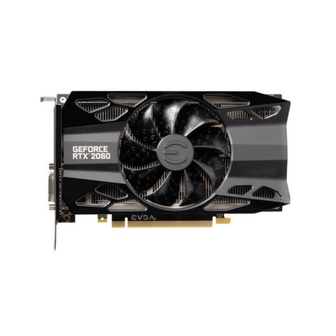 Gaming Graphics Card Evga NVIDIA RTX 2060 XC BLACK 6 GB GDDR6-Universal Store London™