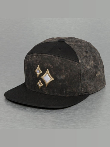 Bangastic / Snapback Cap Acid Wash in black-Universal Store London™