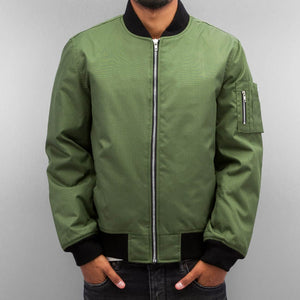 Dangerous DNGRS / Bomber jacket Classic in olive