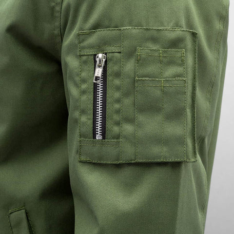 Dangerous DNGRS / Bomber jacket Classic in olive-Universal Store London™
