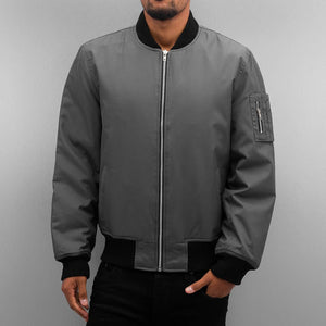 Dangerous DNGRS / Bomber jacket Classic in grey