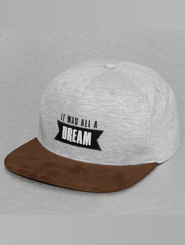 Who Shot Ya? / Snapback Cap Dream in grey-Universal Store London™