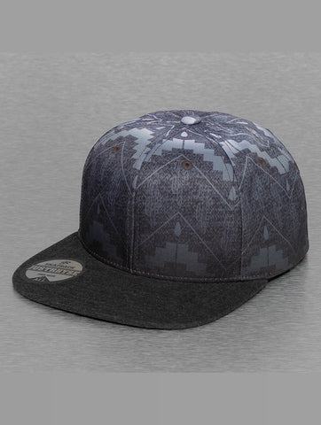 Just Rhyse / Snapback Cap Val in grey-Universal Store London™