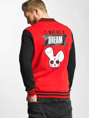 Who Shot Ya? / College Jacket Dream in red
