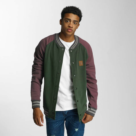 Just Rhyse / College Jacket Dillon Beach in purple-Universal Store London™
