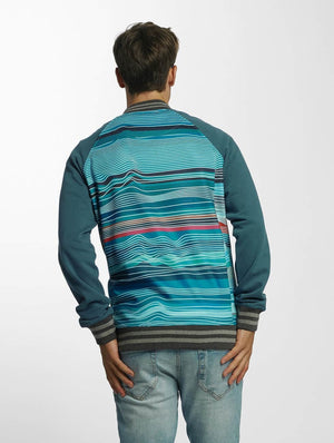 Just Rhyse / College Jacket Bell Springs in turquoise