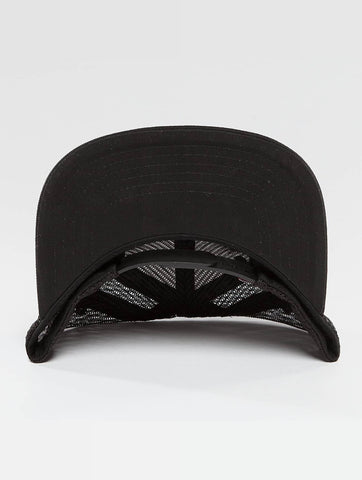 Who Shot Ya? / Trucker Cap Collogebro in black-Universal Store London™