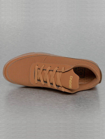 Image of Dangerous DNGRS / Sneakers Perforated in brown-Universal Store London™