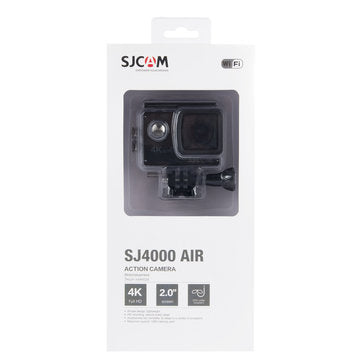 SJCAM SJ4000 AIR Action Camera Full HD 4K WIFI Sport DV 2.0 Inch Screen - Black-Universal Store London™