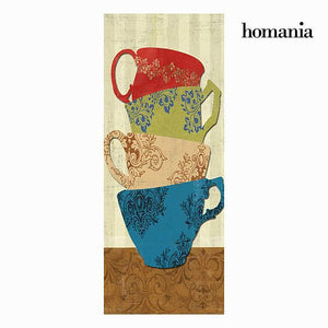 3 cups canvas frame by Homania-Universal Store London™
