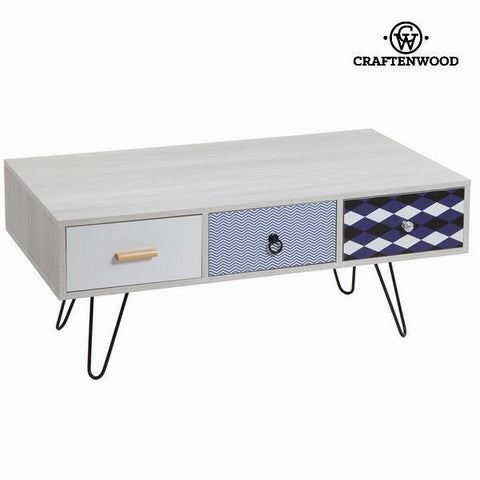 Image of 3 drawers tv table by Craften Wood-Universal Store London™