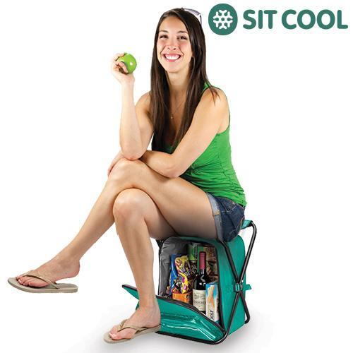 3-in-1 Sit Cool | Folding Chair, Thermal Bag and Rucksack-Universal Store London™
