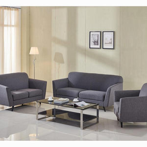 3 seater sofa grey abbey - Love Sixty Collection by Craftenwood
