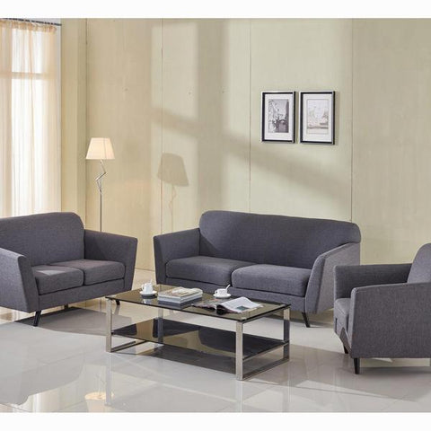 3 seater sofa grey abbey - Love Sixty Collection by Craftenwood-Universal Store London™