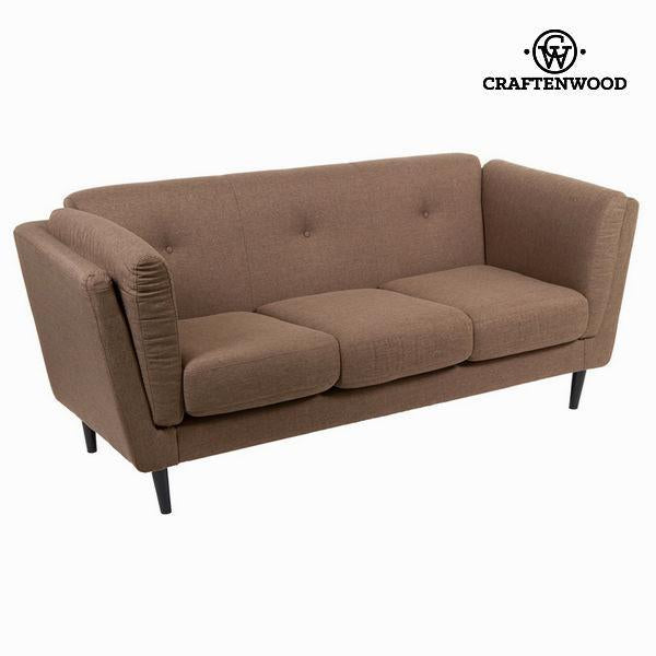 3 seater sofa tobacco city - Love Sixty Collection by Craftenwood-Universal Store London™