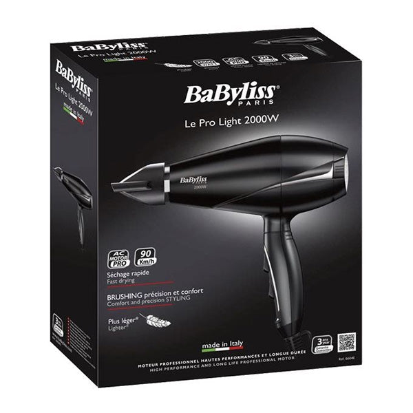 Hairdryer Babyliss 6604E 2000W Black-Universal Store London™