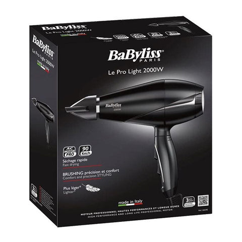 Image of Hairdryer Babyliss 6604E 2000W Black-Universal Store London™