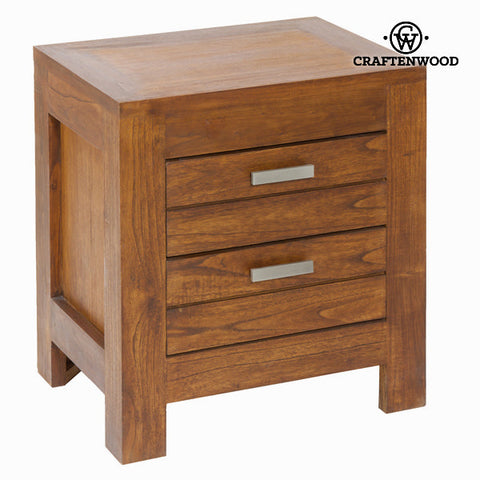 Nightstand Mindi wood (50 x 38 x 54 cm) - Be Yourself Collection by Craftenwood-Universal Store London™
