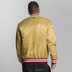 Ecko Unltd. / Bomber jacket Shinning Star in gold colored