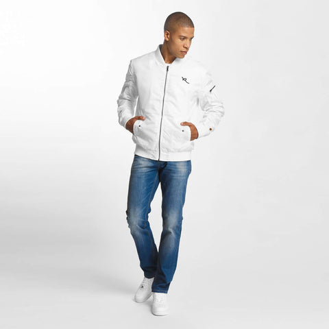 Image of Rocawear / Bomber jacket Dariusz in white-Universal Store London™