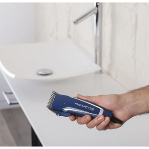 Image of Hair Clippers Rowenta 222485 Inox Blue Black-Universal Store London™