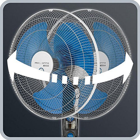 Standing Fan with Anti-mosquito Setting Rowenta Ultimate Protect VU4210F0 60W 115/145 x 40 cm-Universal Store London™