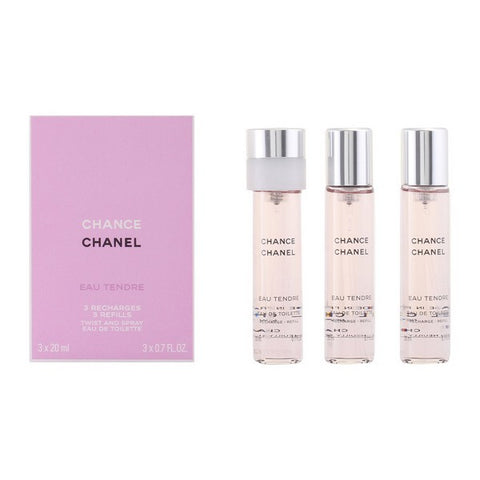Image of Women's Perfume Chance Eau Tendre Chanel EDT (3 pcs)-Universal Store London™