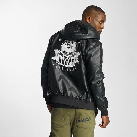 Image of Dangerous DNGRS / Lightweight Jacket Represent in black-Universal Store London™