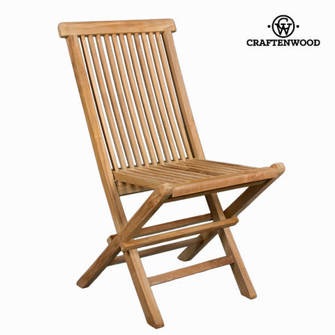 Teak folding chair by Craftenwood-Universal Store London™