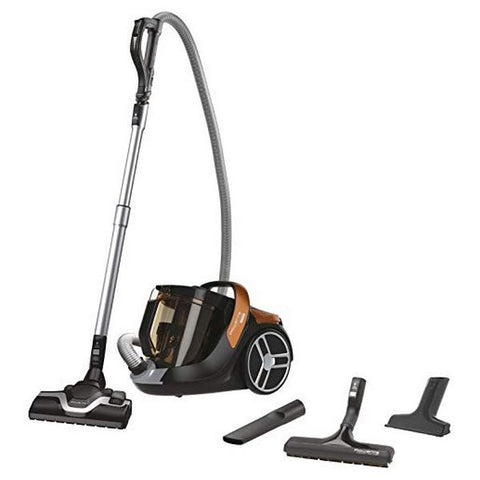 Bagless Vacuum Cleaner Rowenta X-Trem Power Cyclonic 2,5 L 550 V Black Orange-Universal Store London™