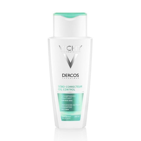 Shampoo Dercos Vichy (200 ml) Greasy hair-Universal Store London™