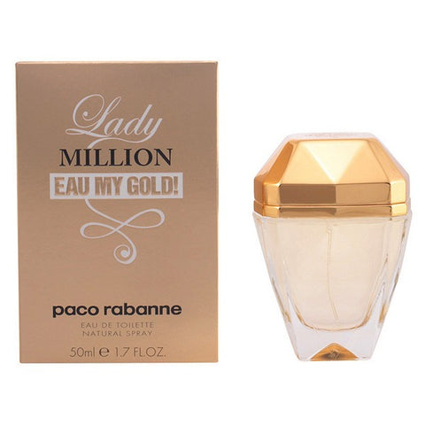 Women's Perfume Lady Million Eau My Gold! Paco Rabanne EDT-Universal Store London™
