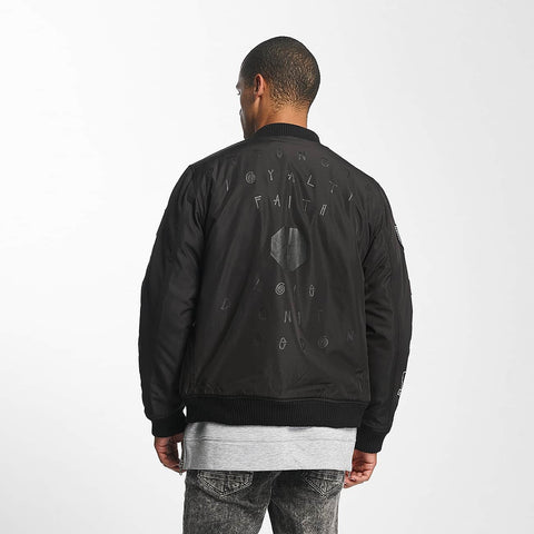 Cavallo de Ferro / Bomber jacket Stereo in black-Universal Store London™