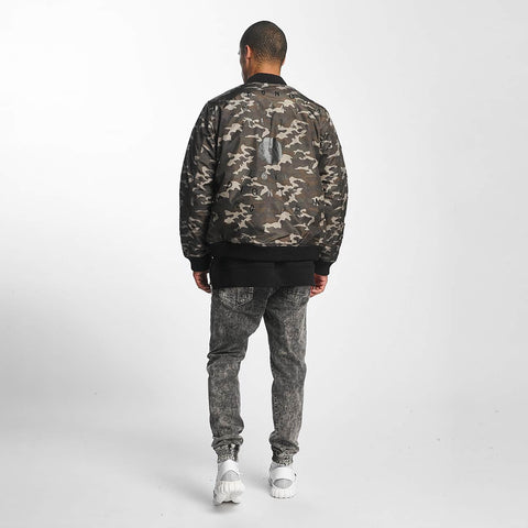 Image of Cavallo de Ferro / Bomber jacket Stereo in camouflage-Universal Store London™