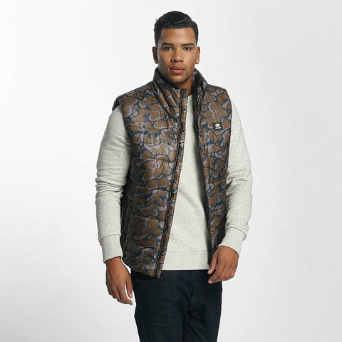 Image of Ecko Unltd. / Vest Dr. Daddy in camouflage-Universal Store London™