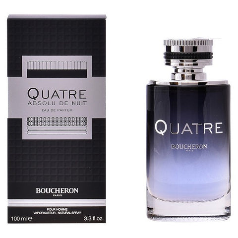 Image of Men's Perfume Quatre Absolu De Nuit Homme Boucheron EDP-Universal Store London™