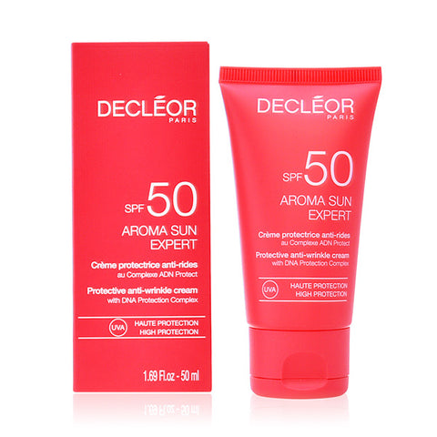 Image of Facial Sun Cream Aroma Sun Expert Decleor Spf 50 (50 ml)-Universal Store London™